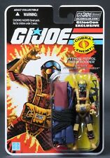 2018 GI Joe Con JoeCon Python Patrol Para Viper Officer Parachute Carded MOC