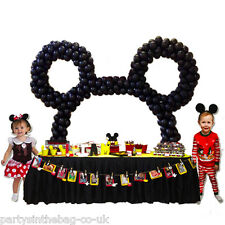 MICKEY THE MOUSE BIRTHDAY TABLE BALLOON ARCH