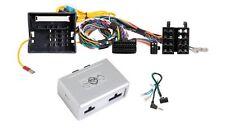 BMW 3er E90 E91 E92 E93 F30 Autoradio Adapter, Lenkrad Adapter + PDC über KFZ-LS