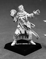 Erasmus Iconic Medium Reaper Miniatures Pathfinder Wizard Mage Caster Magic User