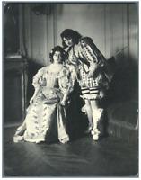 H. Blancard, France, Portrait de Melle. Laparcerie et Melle. Rabuteau  Vintage p