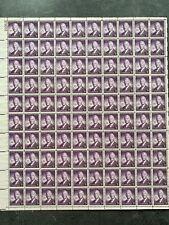 USA Briefmarken Bogen 100x 3 Cent 1944 Alfred E. Smith #26367-S