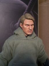 Custom Painted Marvel Legends Mezco 1/12 Captain America Steve Rogers HEAD ONLY