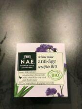 N.A.E. - Crème nuit Anti-Âge Visage Certifiée Bio - 50 ml