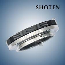 SHOTEN adapter for Leica M Ziess M VM mount lens to Sony E mount NEX A7R2 A9