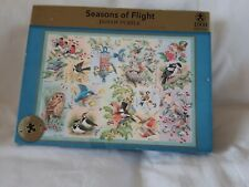 SEASONS OF FLIGHT - M&S 1000 PIECE JIGSAW PUZZLE - GOOD USED CONDITION.