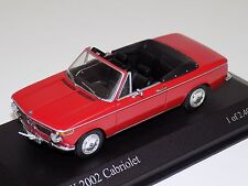 1/43 Minichamps BMW 2002 Cabriolet  from 1971 in Red