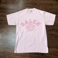 Vintage 90s T Shirt Large Salem College North Carolina Single Stitch Graphic Tee