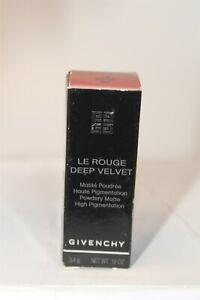 Givenchy Le Rouge Deep Velvet 10 Beige Lipstick .12 oz. NEW FRANCE