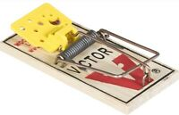 Qty 4 Victor M035 Easy Set Disposable Mouse Traps Fast Free Shipping!