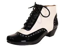 Chelsea Crew Pearla Two Tone Oxford Booties