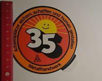 Aufkleber/Sticker: IGM Metallhandwerk Arbeitsplätze sichern (23121686)