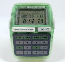 Nuevo CASIO DBC-63 Micro Cosmos Calculadora Verde módulo 1276 Vintage Raro