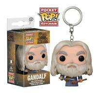 "THE LORD OF THE RINGS - GANDALF 2"" POCKET POP KEYCHAIN VINYL FIGURE FUNKO"