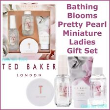 NEW Ted Baker Bathing Blooms Pretty Pearl Miniatures Ladies Gift Set