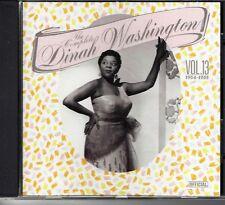 The Complete Dinah Washington Vol. 13 (1954-1955) ( CD 1989 OFICIAL) JAZZ BLUES