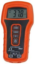 Digital Multimeter Auto Range IP67, CAT III 600V Beleuchtetes Display