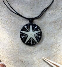 5 BRAND NEW STAR FISH SHELL PENDANT NECKLACES SURFER BEACH WHOLESALE PRICE /n475