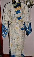 Bassetti Kimono Oplontis V.9 Morgenmantel  Baumwollsatin 100% Baumwolle S/M