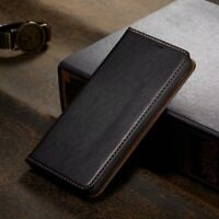 Genuine FS Magnetic Leather Wallet Flip Case Cover For iPhone 11 Pro XS Max XR 8