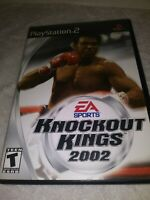 Knockout Kings 2002 - Playstation 2 Game Complete with Manual PS2 Muhammad Ali
