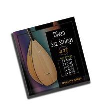 Divan Saz Baglama Saiten  Musicstrings kalite Saz teli hohe Qualitäts-Saiten
