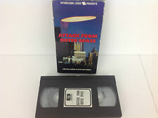 Attack From Outer Space: Are We Alone in the Universe? - VHS Tape - 1986