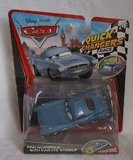 Disney Pixar Cars Quick Changers Race Series Finn McMissle With Karate Wheels