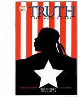 Truth Red White & Black # 1 2003(Marvel) - 1st Isaiah Bradley - FATWS - Disney+