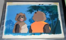 Pom Poko Animation Cel Matching hand painted background - Studio Ghibli - Anime