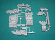 Porsche 911 993 Carrera Pocher 1/8 Silver Engine Plastic Pieces.