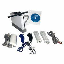 Nintendo Wii Sports Bundle Console RVL-001 w/2 Remotes Nunchuks Cables