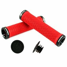 SRAM Locking Ring Grips , Double Clamps & End Plugs , Red