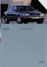 Audi A6 Limousine Avant Prospekt 5/94 1994 Autoprospekt Broschüre brochure Auto