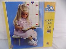 New Jigsaw Puzzle A Child's Faith by Donald Zolan 500 Piece Master Pieces #31260