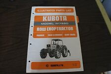Kubota M7950 Mudder Tractor Illustrated Parts List Manual - Mudder Section ONLY!