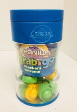 Cranium Grab & Go Checkers Extreme Board Game Travel Game Age 6 & Up Classic