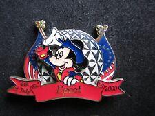 Pin 2058 Wdw - July 4th 2000 Set - Mickey at Epcot Disney Le