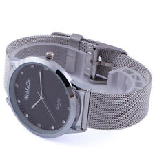 Fashion New Men's Quartz Wrist Watch Vintage Jelly Deco Steel Mesh Band Reloj