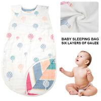 Sac de couchage pour bébé Garçon Filles 100% coton Sac multi-bas Snooze