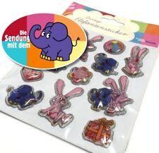 Elefantastisch! 12 3D-Gelsticker: Die Sendung mit dem Elefanten; Freund der Maus
