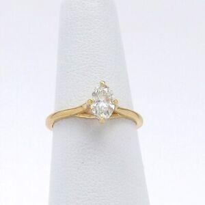 18K Gold Jabel Oval Solitaire Diamond Trellis Set Engagement Ring