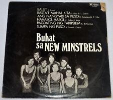 Philippines THE NEW MINSTRELS Buhat Sa New Minstrels OPM LP Record