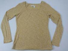 Chelsea & Violet Butterscotch Long Sleeve  Shirt Blouse Large