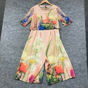 ASOS Maternity Jumpsuit Womens Size 6 Multicoloured Floral Short Sleeve 149.20