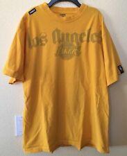 Unk Nba Los Angeles Lakers Shadow Script T-shirt Size Xl Nba Basketball