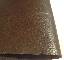REED LEATHER HIDES - WHOLE SHEEP SKIN 7 to 10 SF - Medium Brown Color