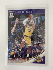 2018-19 Donruss Panini Optic LeBron James #94 Los Angeles Lakers 📈