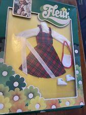 Outfit Fleur Sindy Modepuppe 30 Cm In Ovp  Kleid Mit Zubehör