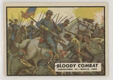 1962 Topps Civil War News #12 Bloody Combat Non-Sports Card 0s4